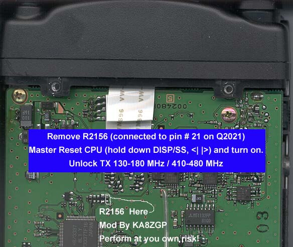 Yaesu Vertex FT-90R Technical - MMI Technical Resource